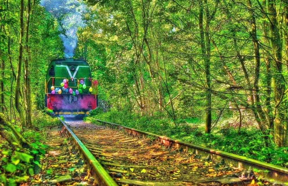 烏克蘭純天然的–愛的隧道