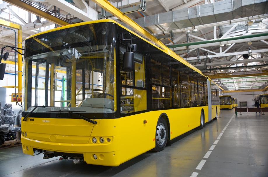 Луцький Богдан виготовить для Києва 55 тролейбусів